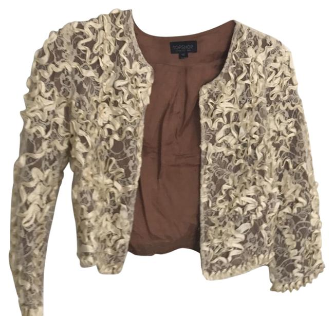 Preload https://item1.tradesy.com/images/topshop-cream-cropped-lace-blazer-size-2-xs-20620325-0-1.jpg?width=400&height=650