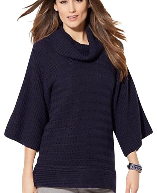Preload https://item2.tradesy.com/images/new-york-and-company-blue-sweaterpullover-size-8-m-20620416-0-1.jpg?width=400&height=650