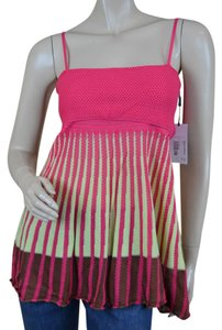 M Missoni Sleeveless Knit Nwt Top Multicolor
