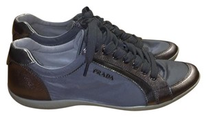 Prada Silver/Metallic Grey Athletic