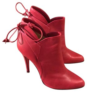 Christian Louboutin Red Boots