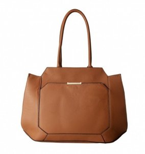 Ivanka Trump It2729 Brown Saddle Cognac Leather Shoulder Bag