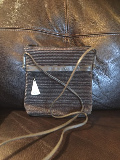 Preload https://item1.tradesy.com/images/sharif-americana-grey-metallic-woven-leather-and-fabric-cross-body-bag-20620790-0-0.jpg?width=440&height=440