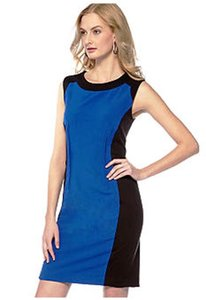 Calvin Klein Color-blocking Sheath Dress
