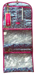"Lilly Pulitzer Lilly Pulitzer ""My Fans"" Seashell Print Hanging Travel Cosmetic Organizer"