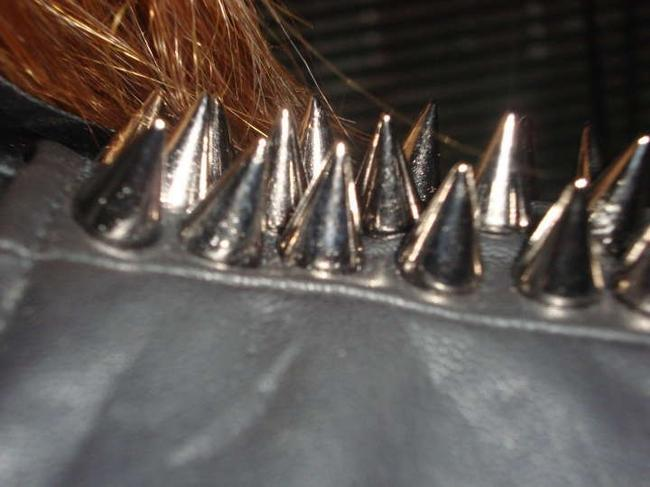 Other Metal Studs On Both Bodice Front Dress