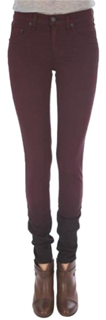 Preload https://item2.tradesy.com/images/rag-and-bone-wine-dark-rinse-ombre-jeggings-skinny-jeans-size-25-2-xs-20620976-0-1.jpg?width=400&height=650