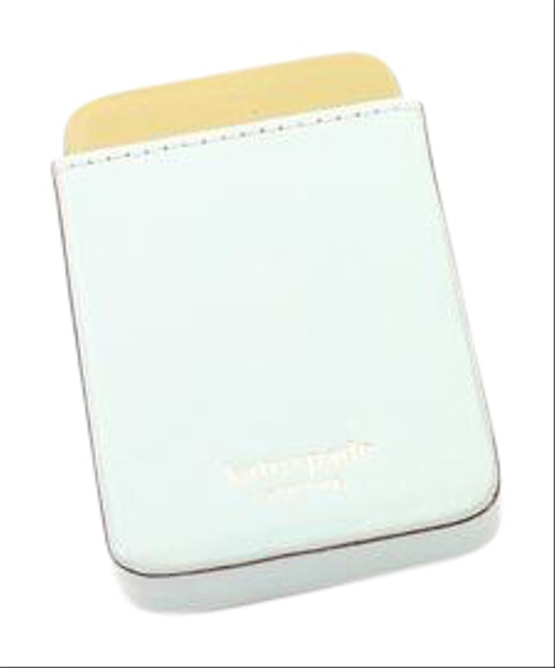 Kate spade teal business card holder tradesy kate spade teal business card holder colourmoves