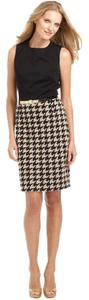 Calvin Klein Sheath Work Houndstooth Dress