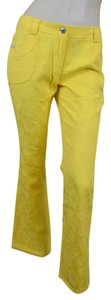 Dolce&Gabbana Flare Pants Yellow