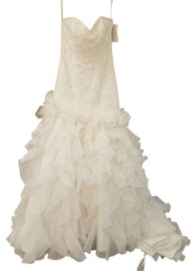 Mori Lee 4585 Modern Wedding Dress Size 6 (S)