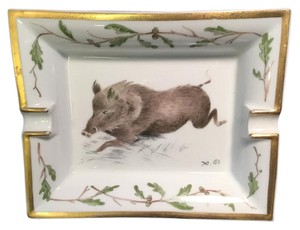 Hermès Hermes Wild Boar 1950's Ashtray