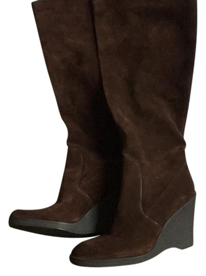 Calvin Klein Chocolate Brown Boots