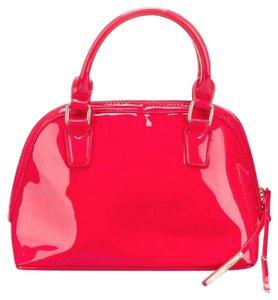 BCBGMAXAZRIA Bcbg Patent New With Tags Nwt Satchel in Red Patent