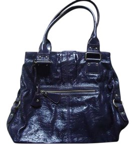 Liz Claiborne Patent Shoulder Bag