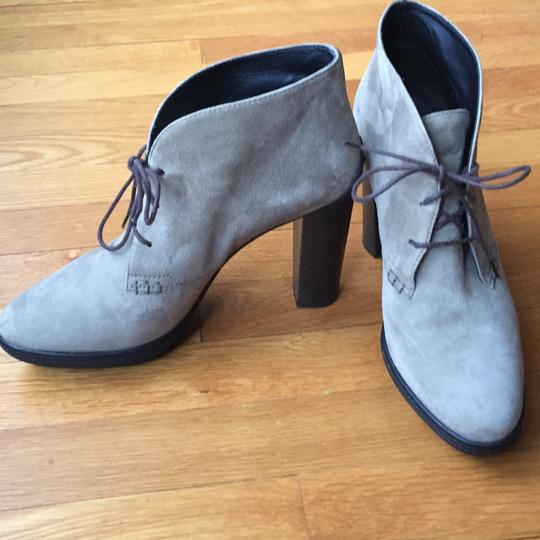 Tod's Gray Boots