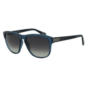 Lanvin New Lanvin SLN582 Clear Dark Blue Rectangular Wayfarer Sunglasses