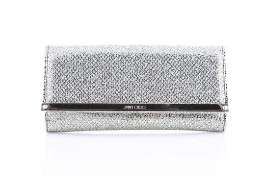 Preload https://item4.tradesy.com/images/jimmy-choo-champagne-glitter-fabric-continental-wallet-20621393-0-0.jpg?width=440&height=440