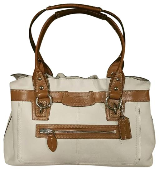 Preload https://item3.tradesy.com/images/coach-penelope-f14686-creamluggage-leather-satchel-20621432-0-1.jpg?width=440&height=440