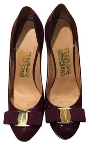 Salvatore Ferragamo Plum Pumps
