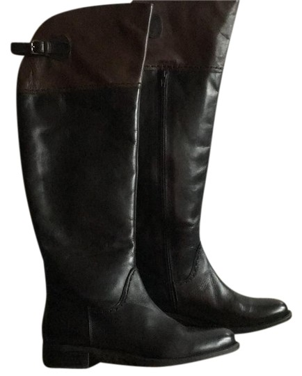 Preload https://item4.tradesy.com/images/black-with-dark-brown-over-the-knee-riding-bootsbooties-size-us-10-regular-m-b-20621448-0-2.jpg?width=440&height=440