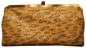 Hobo International Animal Print (Tan, Brown and Gold) Clutch