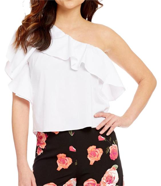 Preload https://item4.tradesy.com/images/gb-one-shoulder-blouse-size-4-s-20621483-0-1.jpg?width=400&height=650