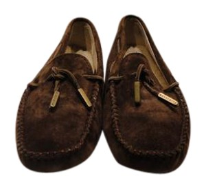 UGG Australia Loafers Moccasins Chocolate Brown Flats