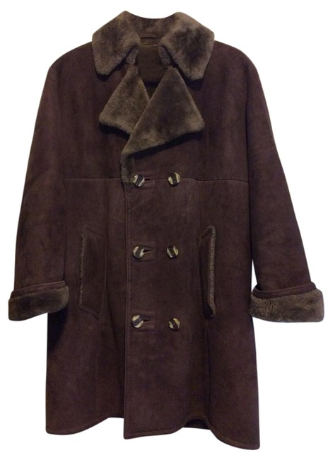 Preload https://item2.tradesy.com/images/saks-fifth-avenue-brown-shearling-coat-size-8-m-20621606-0-1.jpg?width=400&height=650