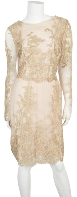Preload https://img-static.tradesy.com/item/20621610/marchesa-notte-gold-mesh-with-embroidery-mid-length-formal-dress-size-14-l-0-1-650-650.jpg