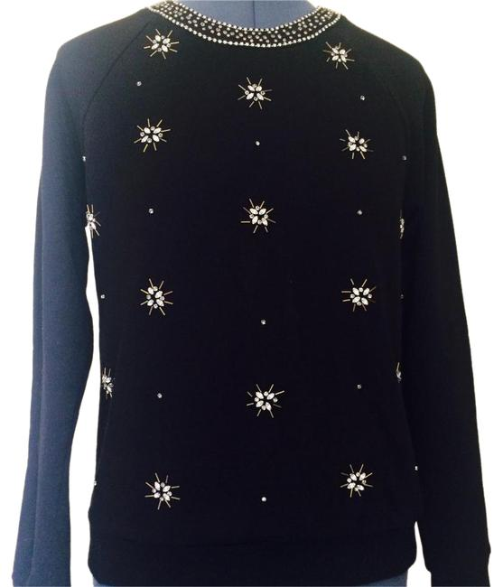 Preload https://item2.tradesy.com/images/juicy-couture-black-embellished-cotton-sweatshirthoodie-size-6-s-20621786-0-1.jpg?width=400&height=650