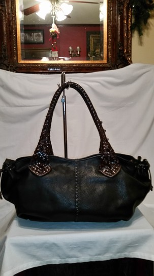 Paolo Masi Satchel in Black and Brown
