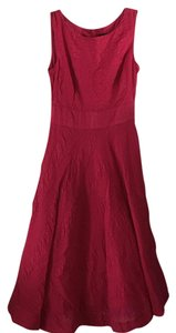 J.Crew short dress Raspberry on Tradesy