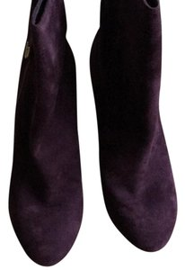Joan & David Purple Suede Boots