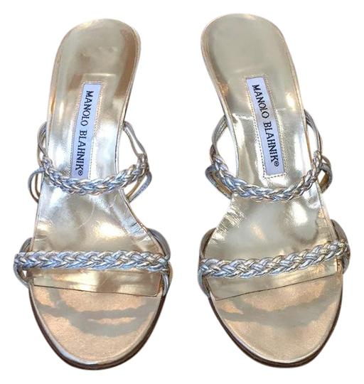 Preload https://item3.tradesy.com/images/manolo-blahnik-silver-braided-pumps-formal-shoes-size-us-7-20621947-0-1.jpg?width=440&height=440