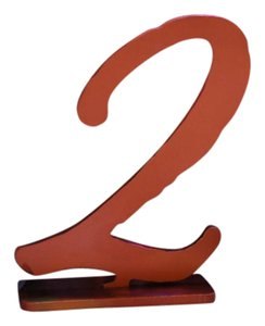 Kate Aspen Gold 1-6 Table Numbers By Tableware