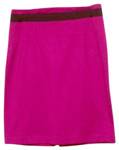 New York & Company Skirt Fuchsia