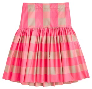 J.Crew Tall Size Skirt Neon Buffalo Check