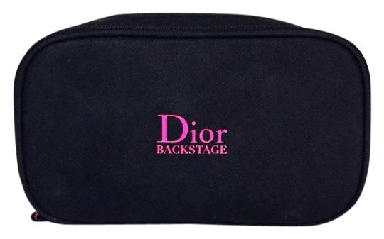 Dior dior backstage hot pink black brush case cosmetic organizer