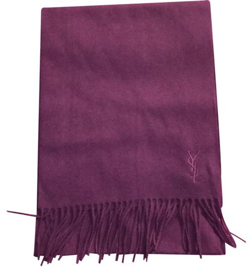 Preload https://img-static.tradesy.com/item/20622360/saint-laurent-new-purple-cashmere-yves-scarfwrap-0-1-540-540.jpg