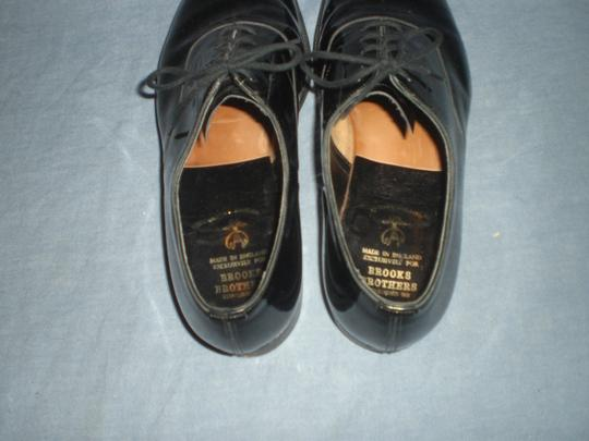 Brooks Brothers Black Flats