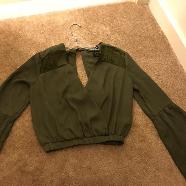 Missguided Top green