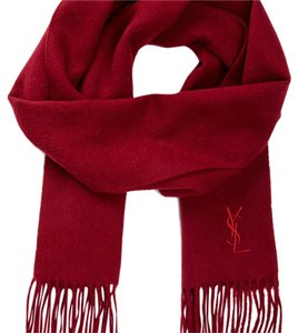 Saint Laurent on-sale! Brand-New YSL wool scarf