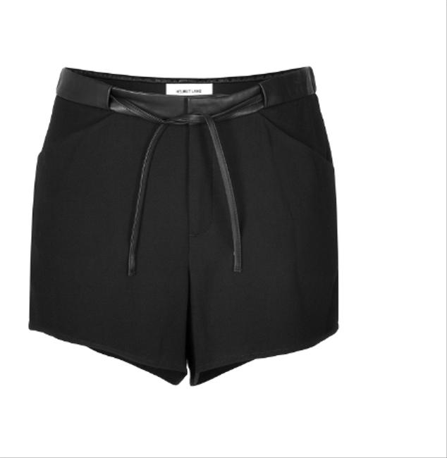 Preload https://img-static.tradesy.com/item/20622445/helmut-lang-black-leather-waistband-drawstring-shorts-size-10-m-31-0-1-650-650.jpg