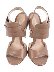 Fendi Heels TAN/BROWN Platforms