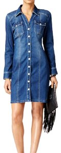 INC International Concepts short dress denim on Tradesy