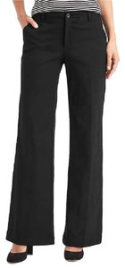 Gap Wide Leg Pants BLACK