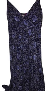 Anthropologie short dress black and blue on Tradesy