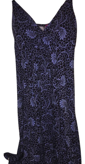 Preload https://img-static.tradesy.com/item/20622588/anthropologie-black-and-blue-new-swing-mid-length-short-casual-dress-size-4-s-0-1-650-650.jpg