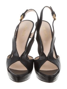 Prada Women Black Platforms
